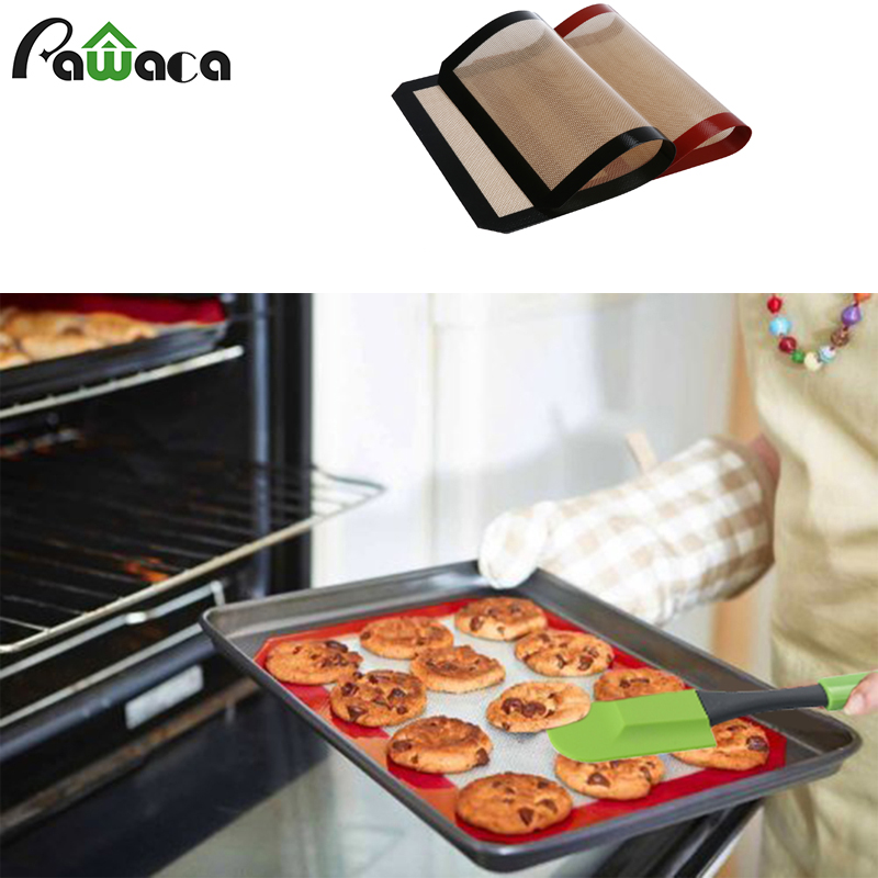 2Pcs/4Pcs BBQ Grill Mats Brush Scraper for Barbecue Grill Sheet Cooking&Baking Microwave Oven Use BBQ Grill Set 2017 Hot Sale!