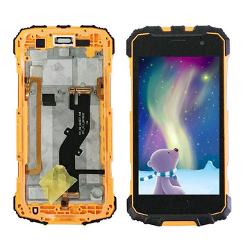 For Ulefone Armor 2 LCD Screen and Touch Screen with frame Display Assembly Repair Parts For Armor2 Smartphone