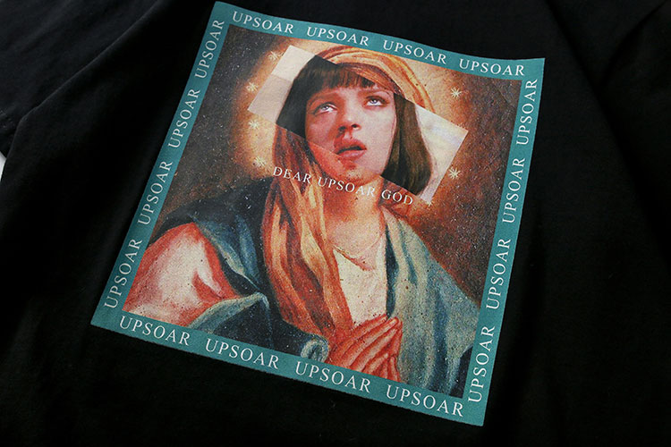 Virgin Mary Men's T-Shirts 6
