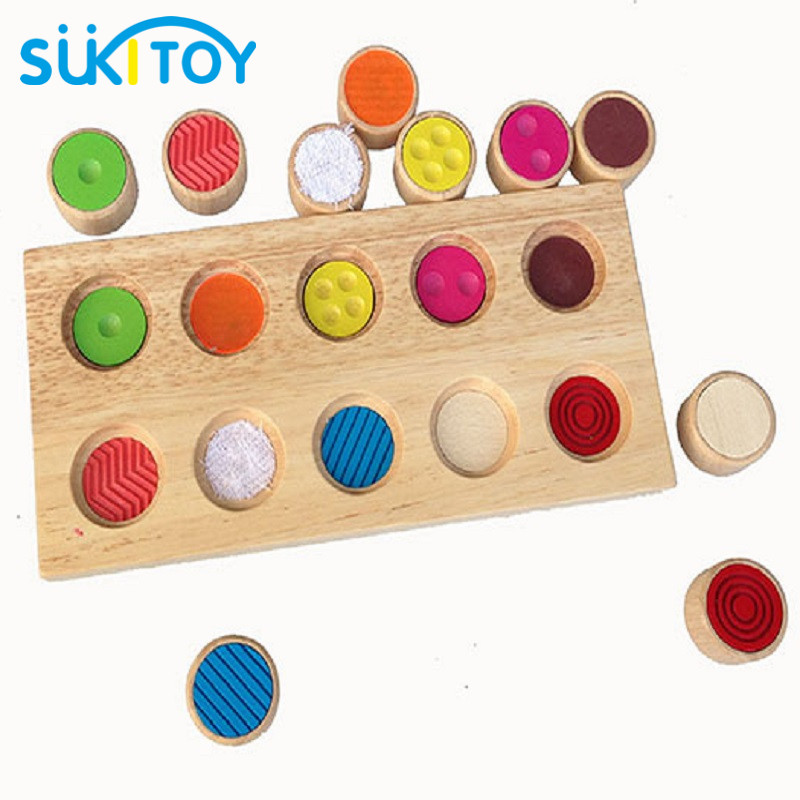 SUKIToy Wooden Toy Color learning for children board game Educational Soft Montessori children intelligent creative toys SK009 dayan gem vi cube speed puzzle magic cubes educational game toys gift for children kids grownups