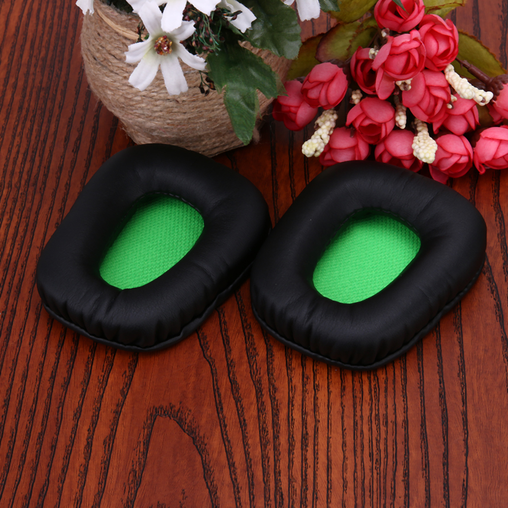 Black Replacement Ear Pads Ear Cushion for Razer Electra Gaming PC Music Headphones Big Earphone Accessories L3FE