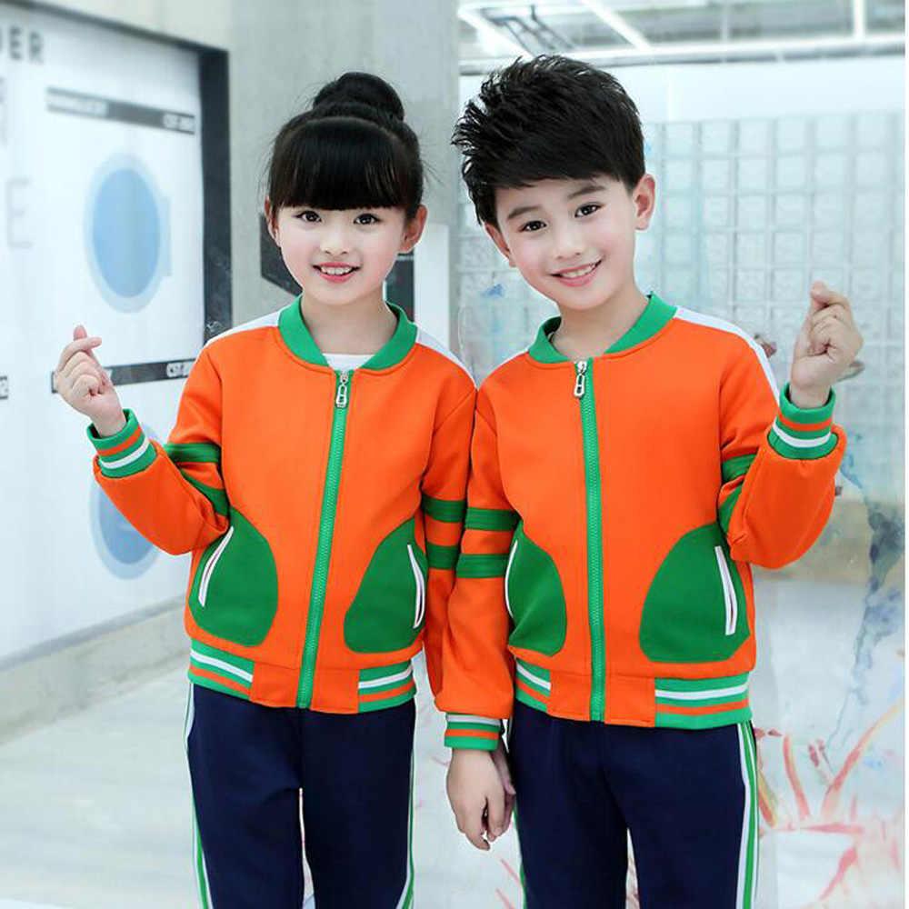 الأطفال رياضية الرياضة مجموعة معطف السراويل اطفال بنين الخريف الملابس دعوى ازياء الملابس الزي المدرسي الملابس وتتسابق