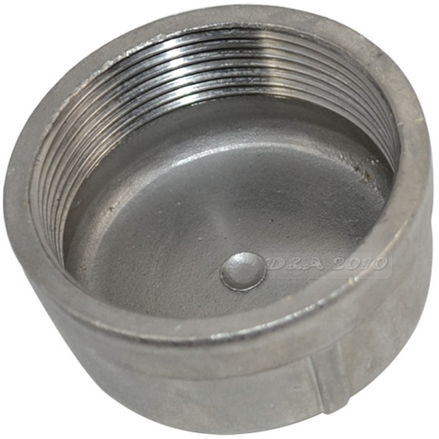 Megairon Bspt 2 Quot Dn50 Pipe Cap Female Stainless Steel