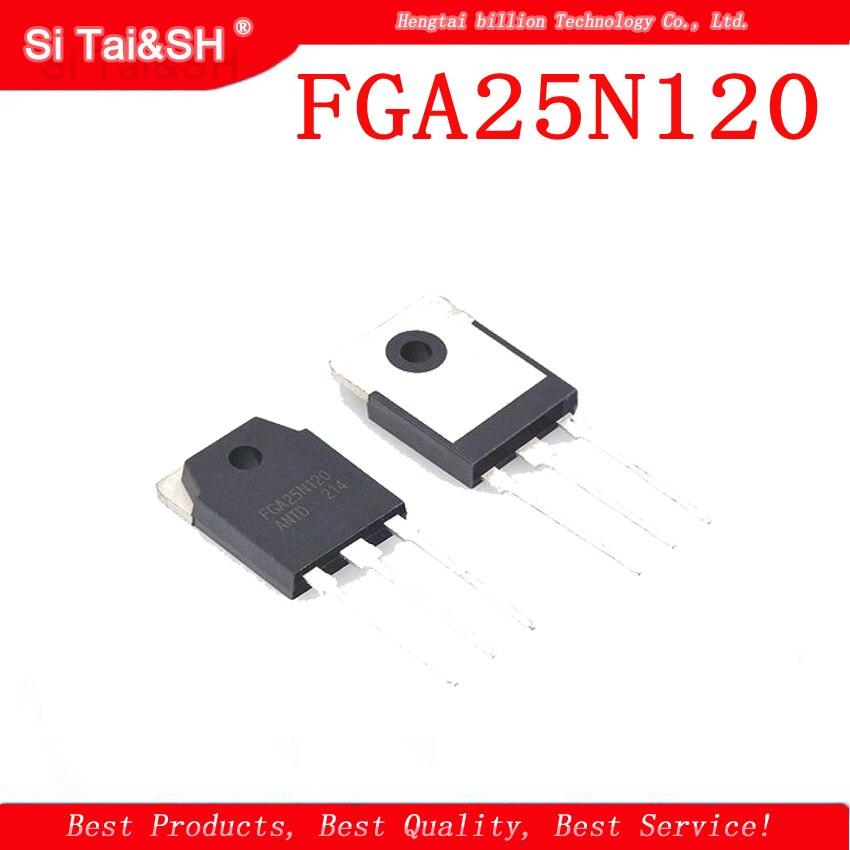 5PCS FGA25N120ANTD FGA25N120 25N120 TO-3P 1200V NPT Trench IGBT FGA25N120ANTDTU