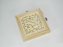 New Wooden Baby Toys Montessori Maze Game Educational Gifts