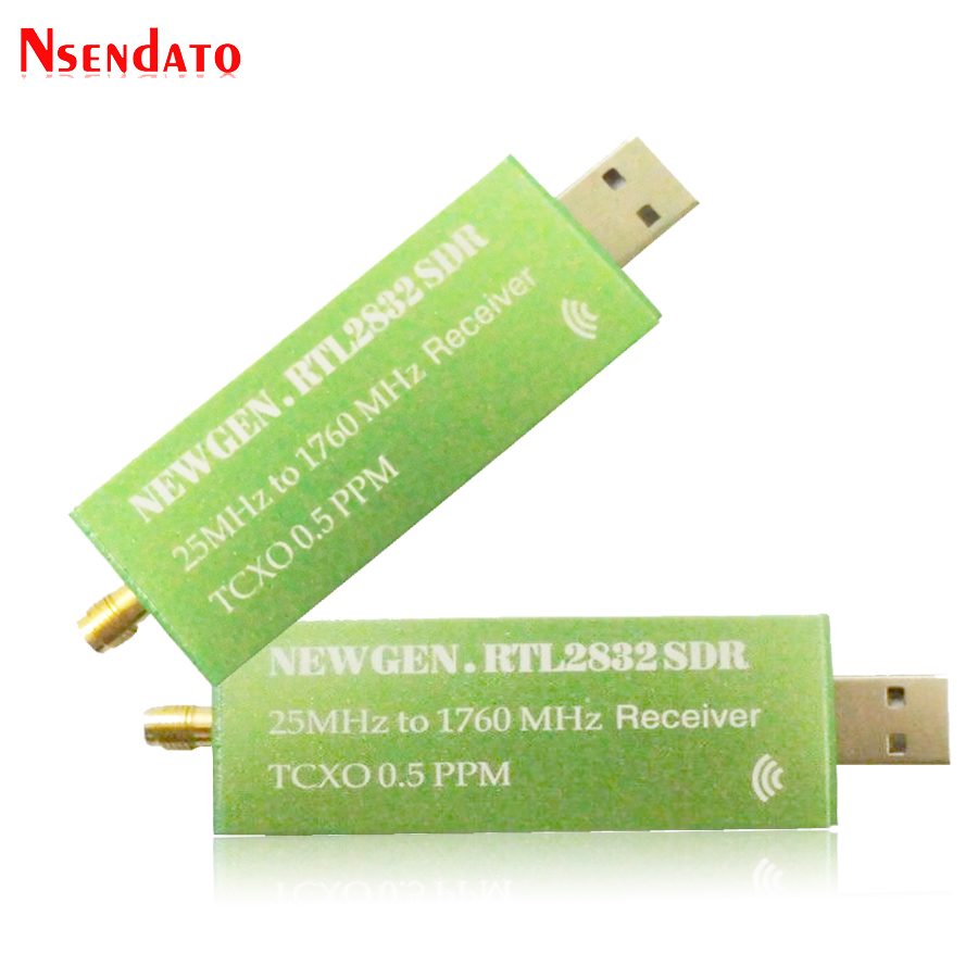USB2.0 RTL SDR 0.5 PPM TCXO RTL2832U R820T2 TV Tuner Stick AM FM NFM DSB LSB SW Software Defined Radio SDR TV Scanner Receiver
