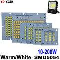 10 Вт 20 Вт 30 Вт 50 Вт 100 Вт 150 Вт 200 Вт SMD 5054 Светодиодная панель 100% полномощный светодиодный прожектор PCB алюминиевая пластина для светодиодного ...