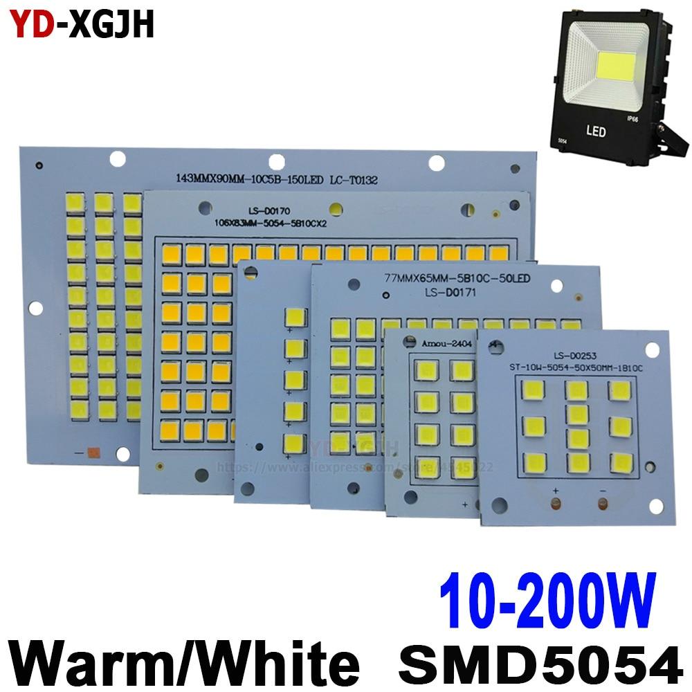 10W 20W 30W 50W 100W 150W 200W SMD 5054 Led Board 100% Full Power LED Floodlight PCB  Aluminum Plate For Led Floodlight