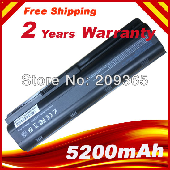 Laptop Battery for HP Pavilion dv7 593562-001 586007-541 593550-001 593553-001 593554-001 HSTNN-UB0W MU06 MU09 574680 001 1gb system board fit hp pavilion dv7 3089nr dv7 3000 series notebook pc motherboard 100% working