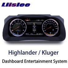 LiisLee инструментальная панель, сменная светодиодный панель, развлекательная интеллектуальная система для Toyota Highlander Kluger XU50 2013