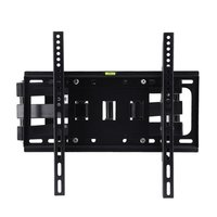 Strong Dual Arm Telescopic Rotating TV Wall Mount Bracket Stand TV Holder Tiltable Swiveling For 26 55 Inch LCD LED TV Load 50kg