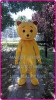 Талисман желтый плюшевый медведь талисман костюм на заказ пользовательские взрослых размер персонажа из мультфильма косплей необычные пл