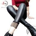 Mulheres Leggings de Couro Falso de Alta Qualidade Legging Fino Plus Size Calças de Alta Elasticidade Sexy Botas De Couro Leggins Leggings
