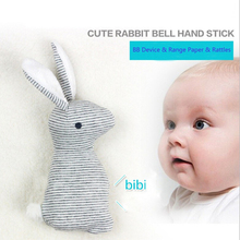 Baby Rattle Toys Animal Cute Rabbit Hand Bells Plush Baby Toy With  Sound Toy Gift Christmas Plush Doll