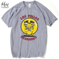 HanHent Heisenberg T-Shirt Men Walter white Chemistry anime shirt Cotton Casual Funny T shirts Swag Breaking bad TV