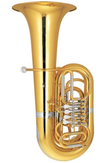 4/4 Tuba Bb Key Height 1100mm With Case And Mouthpiece Yellow Brass Tubas Musical Instruments Professional