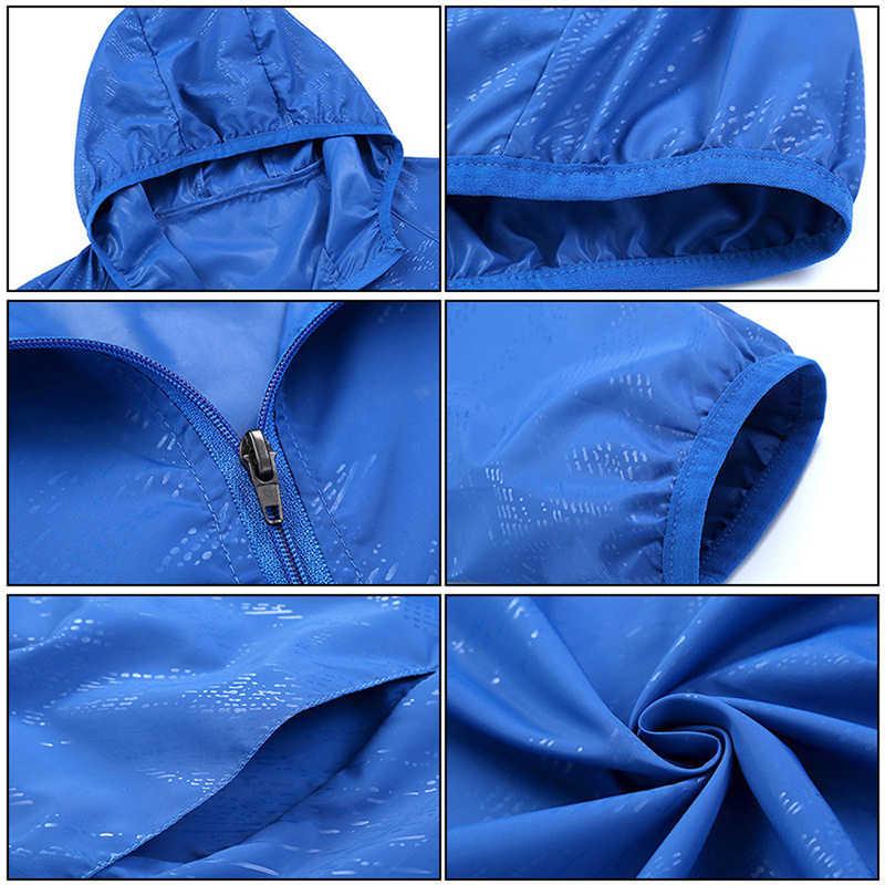 HEFLASHOR, женская, мужская, для спорта на открытом воздухе, ветрозащитная, быстросохнущая, для бега, куртка, конфетный цвет, ультра-тонкая, солнцезащитная, непромокаемая, верхняя одежда