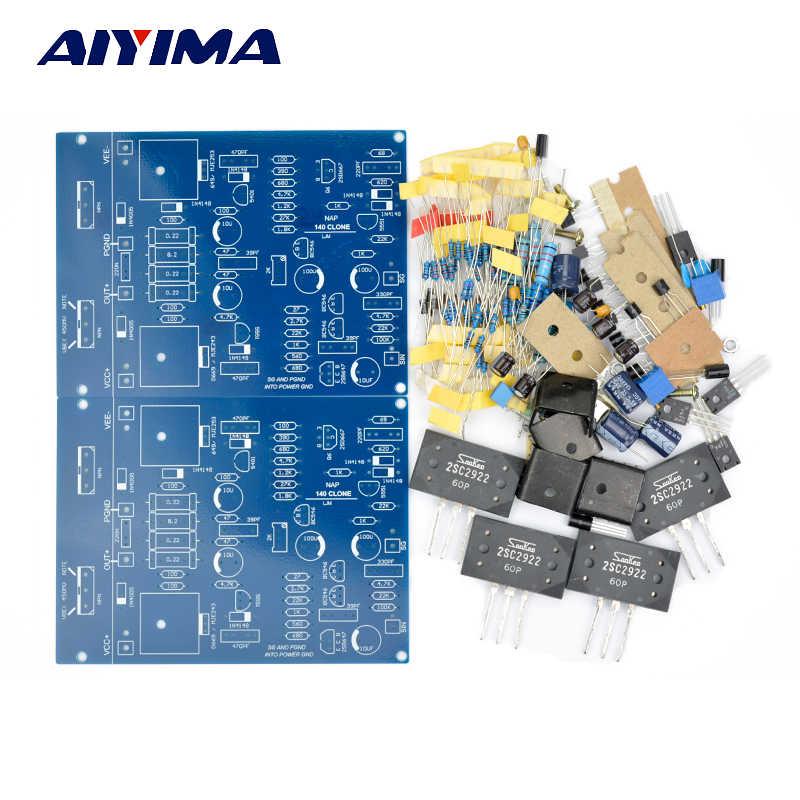 عدة استنساخ AIYIMA NAIM NAP140 AMP 2SC2922 مجموعة مكبر للصوت لوحة مكبر للصوت مكبر للصوت أمبير لdiy 2.0 قنوات J163