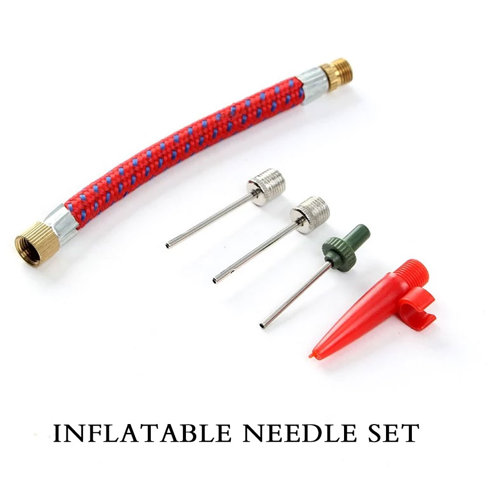 6pcs Sports Ball Inflating Pump Needle For Football Basketball Air Valve Adapter