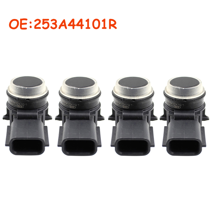 4 Pcs/lot 253A44101R 0263023998 Assist PDC Parking Sensor For Renault 253A4-4101R Car Accessories