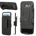 For Samsung Galaxy S3/S4/S5 Min/S6/S7/Edge/Edge Plus/Active/Note 2 3 4 5 7 Rugged Armor Hybrid Impact Holster Case+Belt Clip