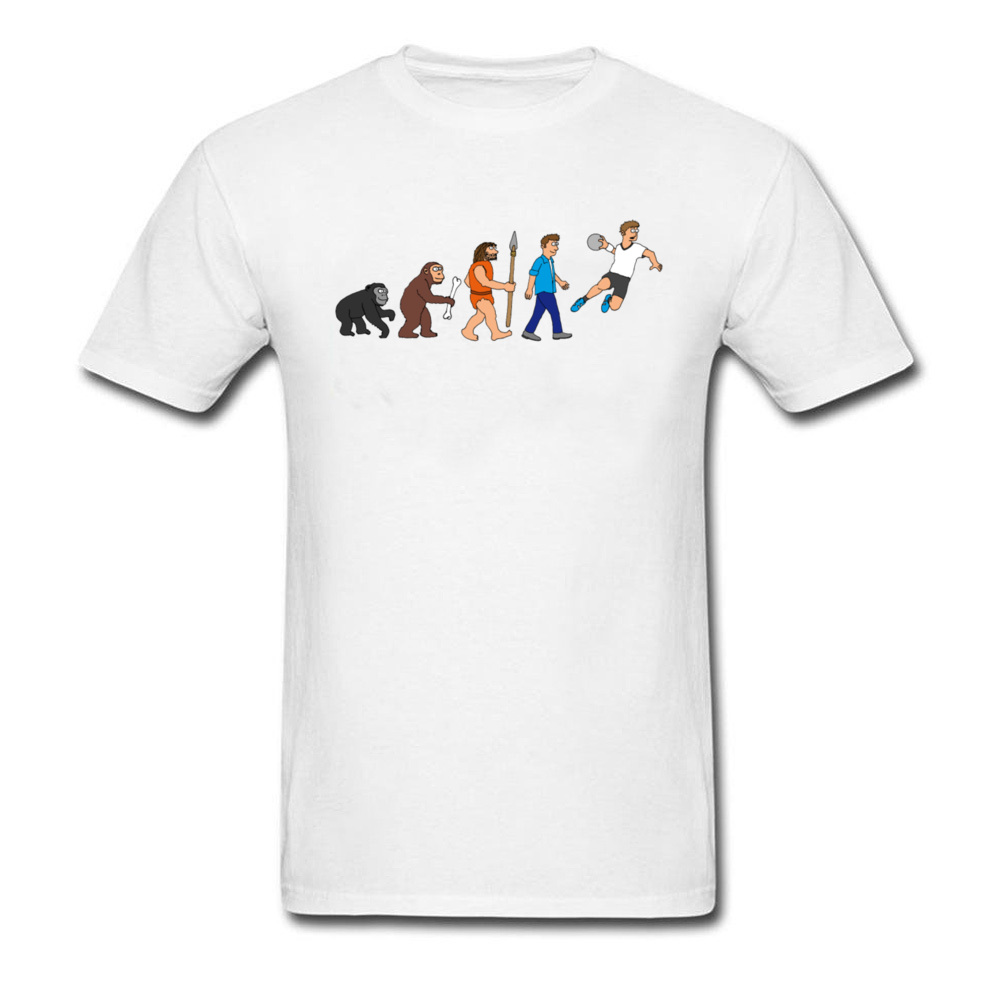 Evolution handball comic_white
