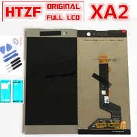 "5,2 ""LCD Für sony Xperia XA2 LCD display Touchscreen Digitizer Montage Für sony xa2 H3113 H3123 H3133 H4113 LCD mit rahmen"