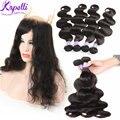 10A Malaysian Body Wave 360 Lace Frontal With Bundle Unprocessed Malaysian Virgin Hair Human Hair Bundles 360 Lace Virgin Hair