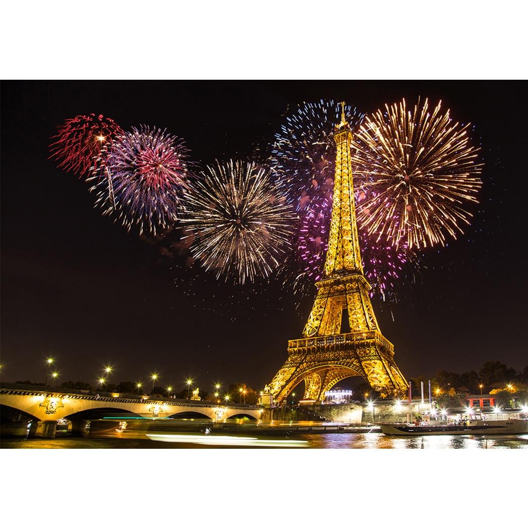 Allenjoy Fotograafia tagaplaanid Ilutulestikud Golden Paris Tower - Kaamera ja foto - Foto 2