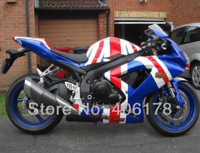 Горячие продаж,к8 gsxr 600 750 08-10 пользовательских для Suzuki gsxr 600 750 2008-2010 обтекатель велосипед флаг Кузов Обтекатели (литье под давлением)