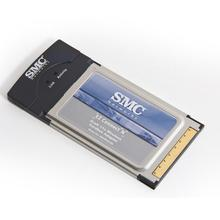 SMCWCB-N2 EZ Connect N Pro PCMCIA 300Mbps Wireless Cardbus Wifi Wlan Adapter 2.4GHz