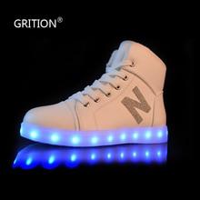 ที่มีสีสันส่องแสงLEDรองเท้าสำหรับผู้หญิงผู้ใหญ่ขนาดใหญ่ขนาดรองเท้ารองเท้าเรืองแสงที่มีไฟ