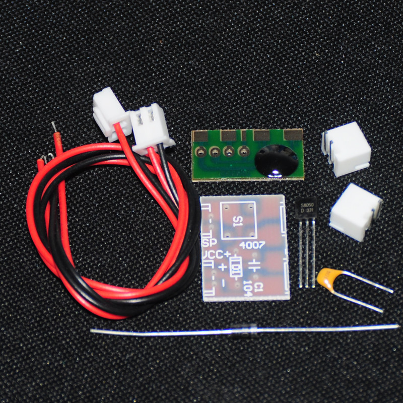 1Set Intellectual Electronic DIY KIT Unassembled Suite Trousse Music Voice Sound Chip Kits Integrated Circuits Electronic Parts