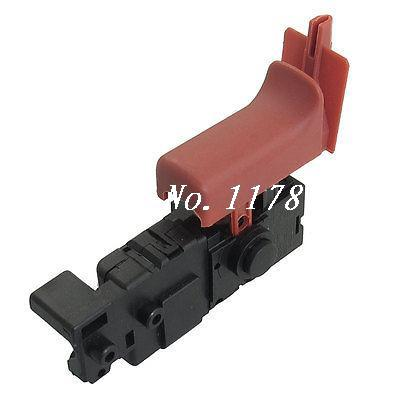 AC 250V 4A SPST Momentary Trigger Switch for Bosch GBH2-26 Electric Drill carbon brush plate holder for bosch gbh2 26dfr gsb16re gsb19 2re gsb19 2rea hd21 2 gbh2 23re 11250vsrd gbh2 24d gbh2 26f