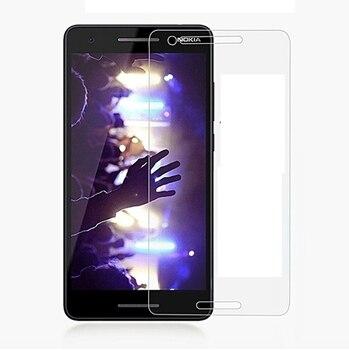 Перейти на Алиэкспресс и купить Смартфон 9H закаленное стекло для Nokia 2 V 2 V 2,1 5,5 дюймЗащитная пленка для экрана