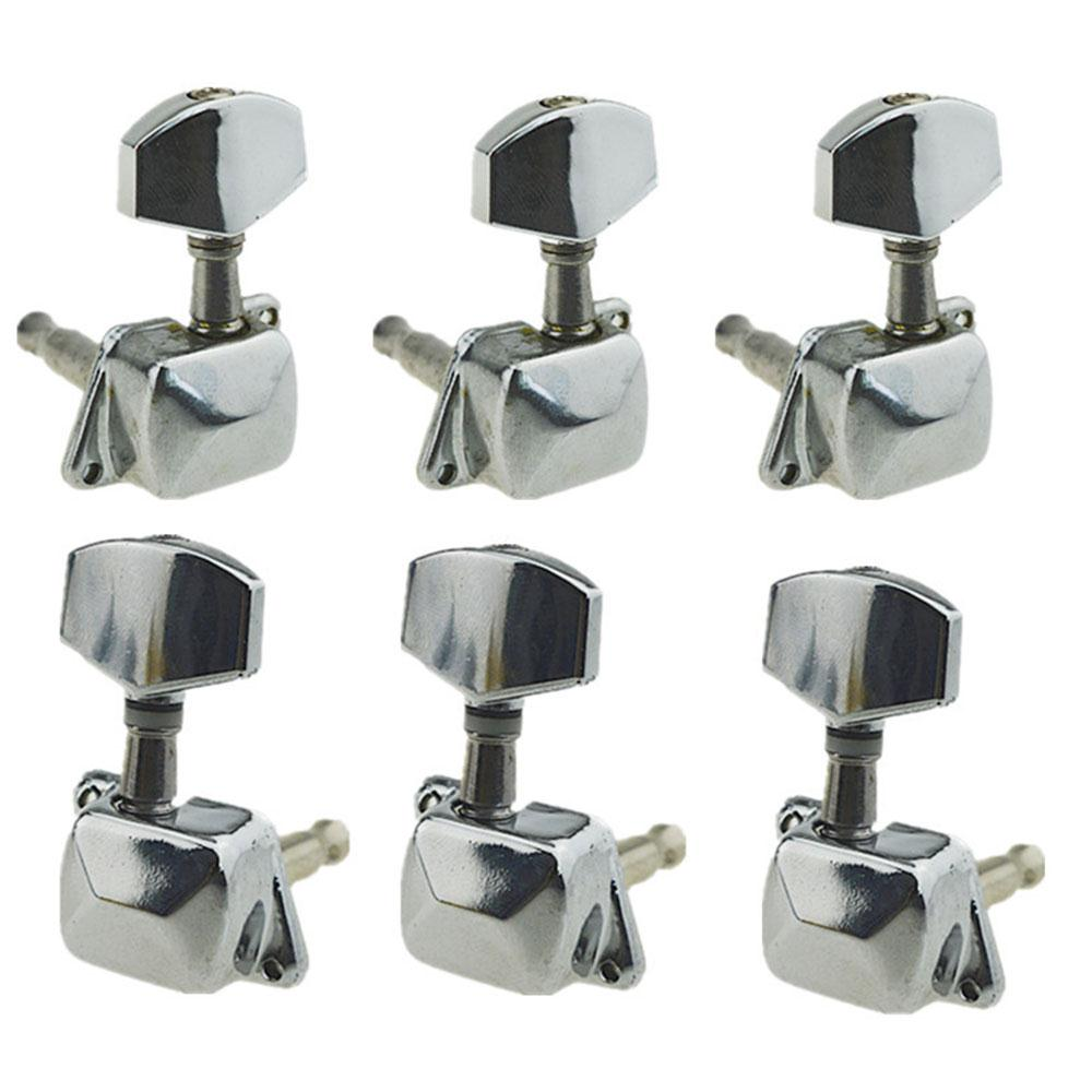 Tuners Machine Heads Professional Semi Closed Accessories Guitar String Button Durable Silver Tuning Keys Classic Guitar Button