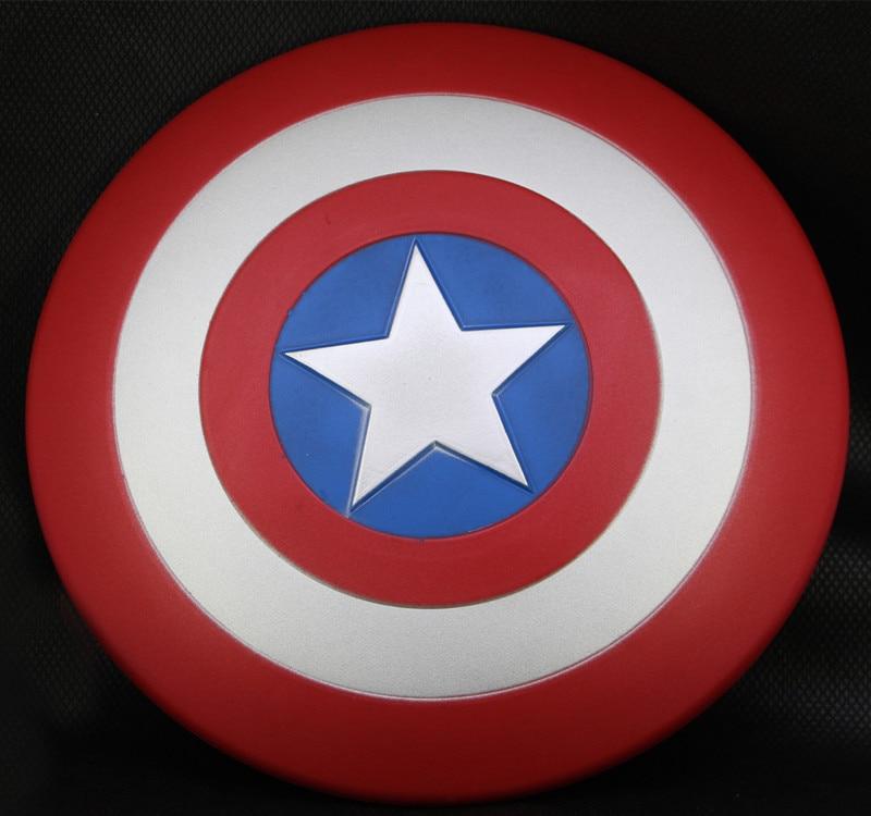 цена на 30cm New Super Hero Figure Toys The Avenger Captain America Shield Helmet Cosplay Toys For Children Action Figure Gifts