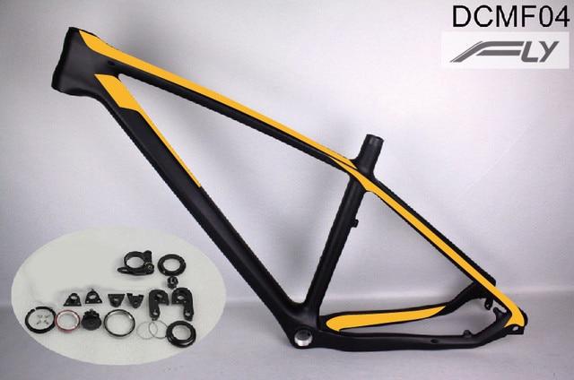 2017 New Model Mtb Carbon Mtb Frame T800 275er 26er Mountain Bikes