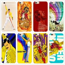 Freddie Mercury Bohemian Rhapsody fashion Hard clear Phone Case Cover Coque For iphone 11Pro MAX 6 6s 7 8plus 5s 4 X XS XR XSMax