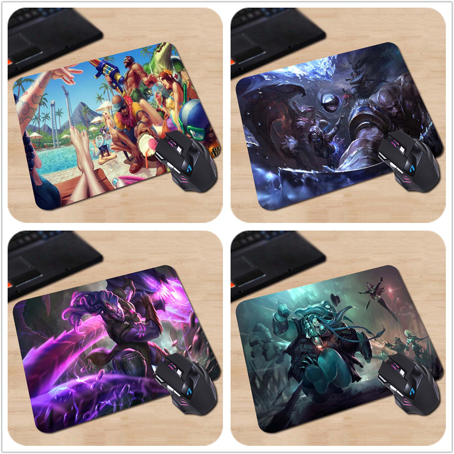league of legends pool party Hot Sale Mouse Pad Computer Gaming MousePads