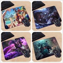Love league of legends pool party Hot Sale Mouse Pad Computer Gaming MousePads Laptop Gaming Mice Play Mat 18*22cm and 25*29cm