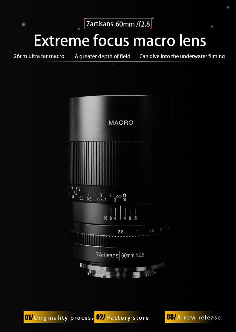 7artisans 7.5mm F2.8 APS-C Manual Fixed Lens for M4//3 Mount Cameras Panasonic G1 G2 G3 G4 G5 G6 G7 GF1 GF2 GF3 GF5 GF6 GM1 Olympus EMP1 EPM2 E-PL1 E-PL2 E-PL3 E-PL5