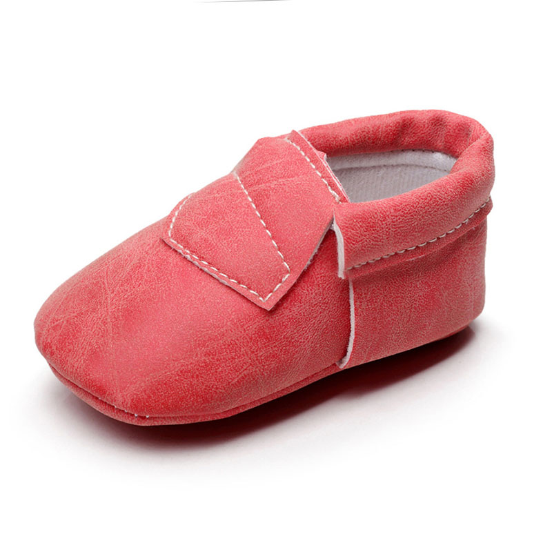 Toddler Baby Girls Boys Toddler Shoes Soft Soled Shoes Artificial PU Material Fashion Wear Resisting Baby