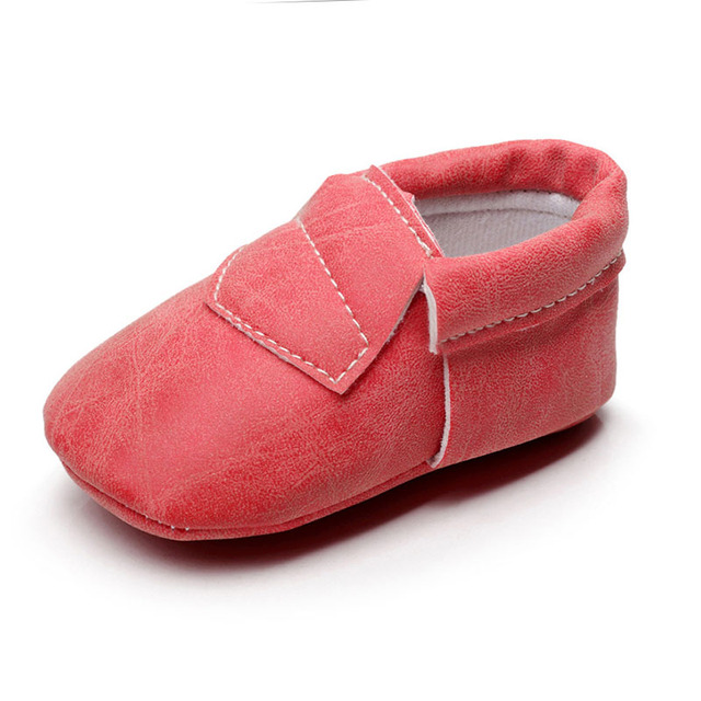 Toddler Baby Girls Boys Toddler Shoes Soft Soled Shoes Artificial PU Material Fashion Wear-Resisting Baby Prewalker ZH0064