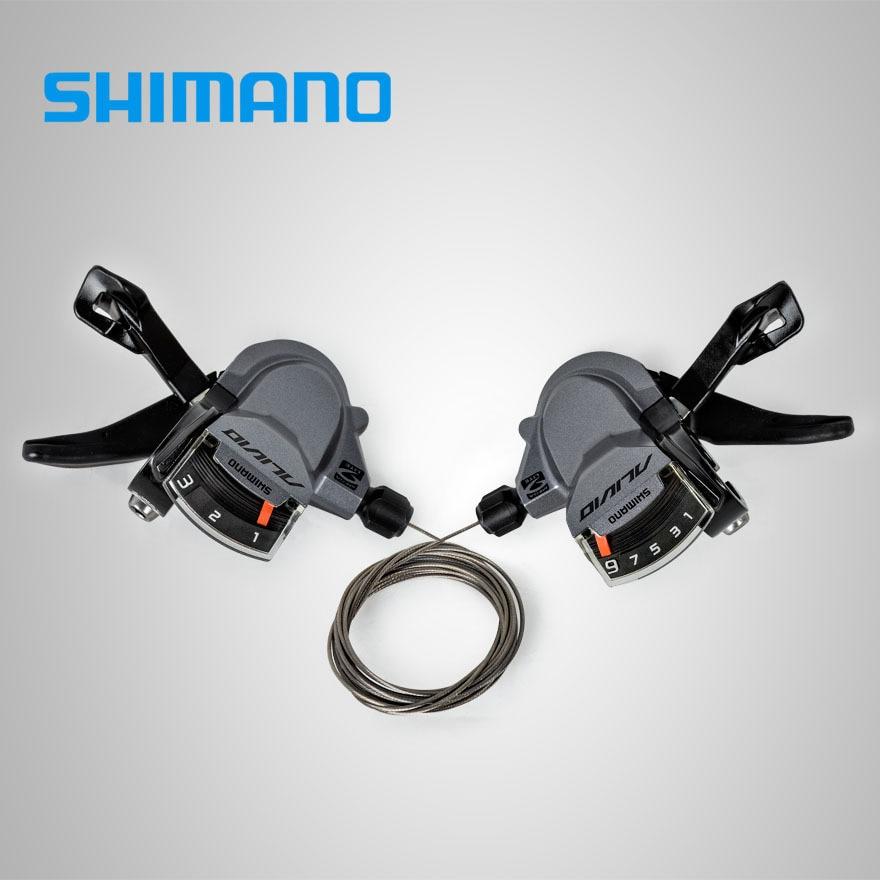 SHIMANO ALIVIO SL M4000 3x9 S 27 Geschwindigkeit Schieber-hebel Trigger Mit Inneren Kabel 3 s 9 s optionen