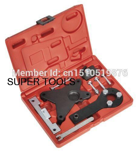 Automotive Engine Timing Belt Crankshaft Locking Setting Tool Kit For FIAT 1.2 8V & 1.4 16V AT2067 engine timing locking tool set kit for fiat 1 3 cdti ford vauxhall opel suzuki diesel