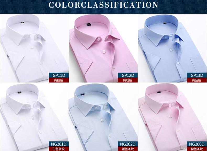 curta, camisas para homens, formal, estilo clássico, roupa de trabalho