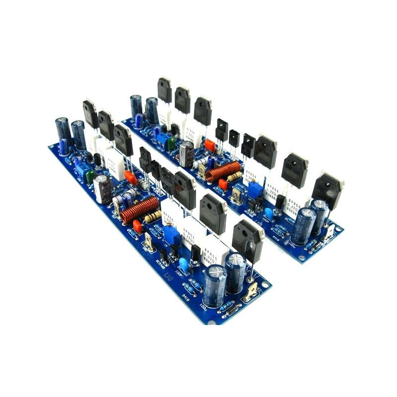 L10-1 300W * 2 2.0 channel DIY fever class AB amplifier board C5171 / A1930 + NJW0302 / NJW0281 amplifier board l10 1 300w 2 2 0 channel diy fever class ab amplifier board c5171 a1930 njw0302 njw0281 amplifier board