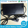 25.2V 6A 6.5A 7A 7.5A 8A 8.5A 9A 9.5A Intelligent Lthium Li-ion Battery Charger For 6S 3.6V 3.65A 3.7V Lipo Battery