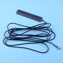 Автомобильная антенна SMA Black DAB, антенна с креплением на лобовое стекло, 300 см, стабилизация сигнала кабеля